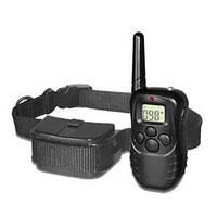 Электронный радио ошейник для дрессировки собак электрошоковый вибрация с дистанционным управлением