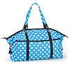 Женская, молодежная сумка среднего размера Dolly (Долли) 084 голубой, розовый, черный