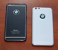 Чехол для iPhone 6 Plus BMW металлический