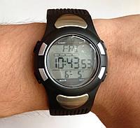 Наручные часы с пульсометром WR30M ( будильник, таймер, календарь, подсветка )