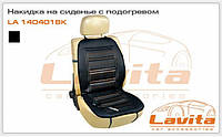 Накидка на сиденье с подогревом LA 140401BK