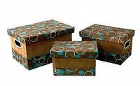 "Декоративная коробка Handy Home ""Шоколад и бирюза"" FBB01-S"