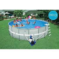 Каркасный семейный бассейн Intex 28332 549x132 см насос + фильтр и аксессуары