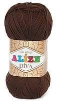 Пряжа Alize Diva 26 Летняя для Ручного Вязания