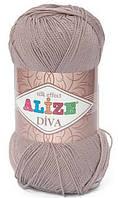 Пряжа Alize Diva 167 Летняя для Ручного Вязания
