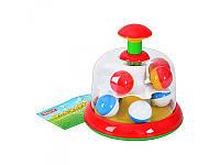 Детская игрушка Юла Stellar 01323 с шариками 10 шт