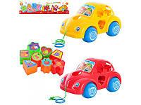 Детская игрушка каталка-сортер Baby Toys Y 998  Машинка