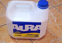 Универсальная укрепляющая грунтовка глубокого проникновения Kraft uni Crunt Aura Eskaro  3 л