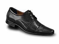 Нарядные туфли на шнуровке