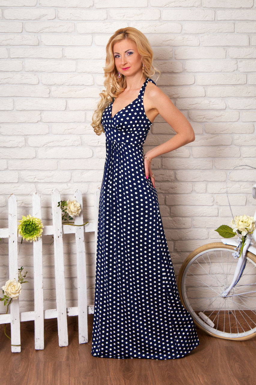 Женские платья и сарафаны в горошек