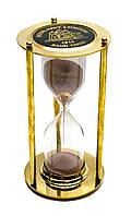 Часы песочные бронза (16,5х9х9 см)(Brass Sandtimer )