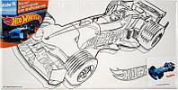 Холст для рисования (15х30) + краски KITE 2014 Hot Wheels 215
