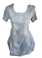 Женское джинсовое платье