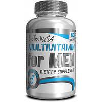 BioTech Мультивитаминный комплекс BioTech Multivitamin for Men, 60 таб.