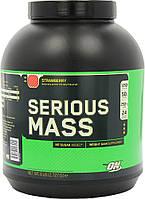 Optimum Nutrition Гейнер Optimum Nutrition Serious Mass, 2.722 кг (клубника)