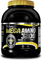 BioTech Аминокислоты BioTech Mega Amino 3200, 300 таб.