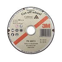 Отрезной круг  3M™ Cubitron™, тип 41, размер 125x1,0 mm (68013)
