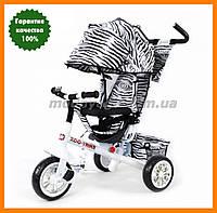 Трехколесный велосипед с родительской ручкой | TILLY ZOO-TRIKE