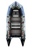 Надувная лодка под мотор AquaStar С-360 FFD камуфляжная