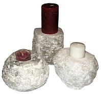 Соляна Соляной подсвечник «Скала» 1-3 кг
