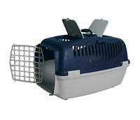 Контейнер для перевозки животных с пластиковой дверью СИНИЙ Capri III Trixie