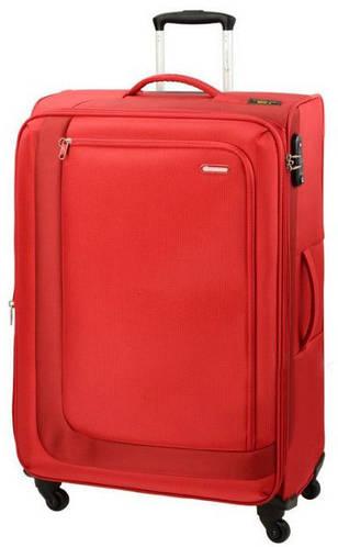 Тканевый практичный чемодан-гигант 96/110л. Carlton Clifton 901J479;22 красный