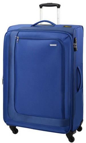 Вместительный чемодан-гигант из прочного полиэстера 96/110л. Carlton Clifton 901J479;41 синий