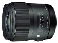 Объектив Sigma AF 35mm f/1.4 DG Canon