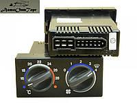 Блок управления (отопителем) климатической установкой на ВАЗ 2110 нового образца, производство: Калуга, каталожный номер: 1323.3854; (1 шт.)