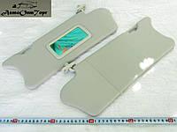 Козырьки противосолнечные с зеркалом ВАЗ 2110, 2111, 2112, производство: Сызрань; (комплект)