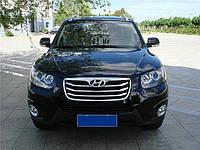Накладка на передний бампер между решетками китай Hyundai ix-35