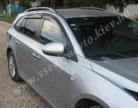 Дефлекторы окон на Chevrolet Cruze универсал 2012 г.