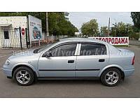 Дефлекторы окон на OPEL Astra G седан/хетчбек 1998-2004