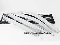 "Дефлекторы окон хром на SsangYong Rexton (Ссанг Енг Рекстон)  ""Autoclover"" A-409"