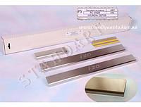 Защита порогов - накладки на пороги Hyundai i20 c 2009-2012-  (Standart)