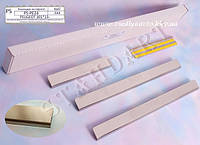 Защита порогов - накладки на пороги Peugeot 301 с 2013 г.  (Standart)