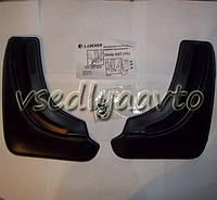 Брызговики задние на Geely Emgrand X7 (полиуретан)