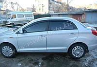 Дефлекторы окон на CHERY A13 седан 2011 г.