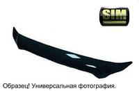 Дефлектор капота мухобойка CITROEN C3 2009- SIM