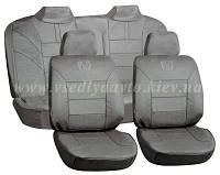 Чехлы на сиденья универсальные  AG-24533/4 серый