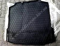 Коврик в багажник SKODA Rapid лифтбэк с 2013- (Автогум AVTO-GUMM) полиуретан