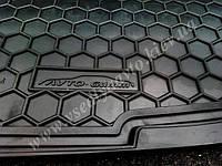 Коврик в багажник HYUNDAI Santa-Fe с 2012 г. (5 мест) (Автогум AVTO-GUMM)