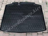 Коврик в багажник SKODA Rapid спейсбэк с 2013- (Автогум AVTO-GUMM) полиуретан