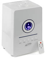 Увлажнитель с ночной подсветкой SPS-807, LED-дисплей, с гигрометром, таймером и озонированием, объем 5,5л