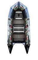 Килевая лодка пвх AquaStar С-360 RFD камуфляжная