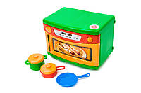 Детская игрушечная микроволновая печь от ТМ Орион  со звуковыми эффектами