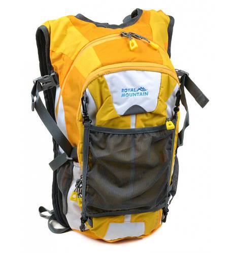 Компактный туристический рюкзак 20 л. Royal Mountain 1457 yellow желтый