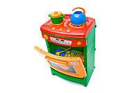 Детская игрушечная печка с духовкой (плита газовая) от ТМ Орион  со звуковыми эффектами