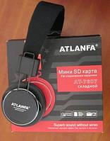 Беспроводные наушники с MP3 плеером и FM приемником Atlanfa AT- 7607, фото 1