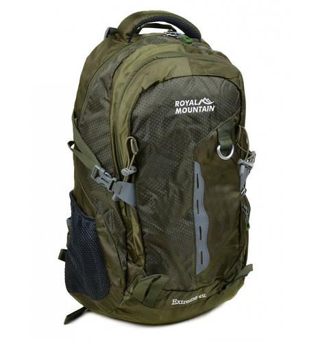 Отличный туристический рюкзак 45 л. Royal Mountain 8461 green зеленый